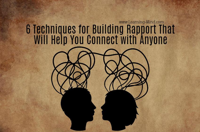 building rapport techniques