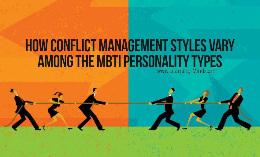 conflict management styles mbti