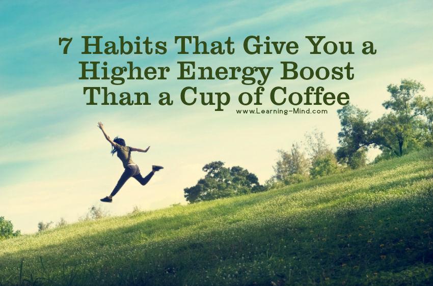 energy boost habits