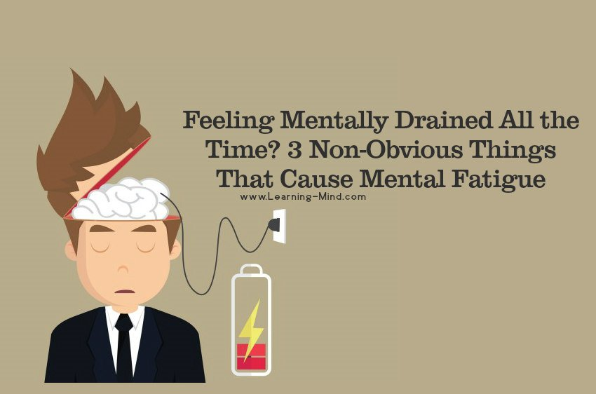 mentally drained fatigue