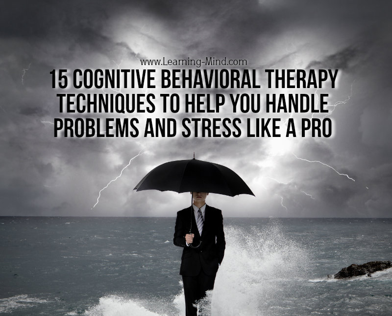 cognitive behavioral therapy techniques