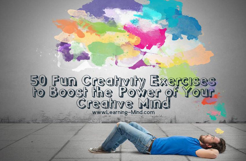 fun creativity exercises