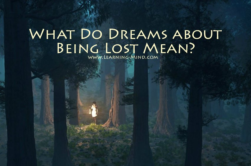 dreams about being lost meaning