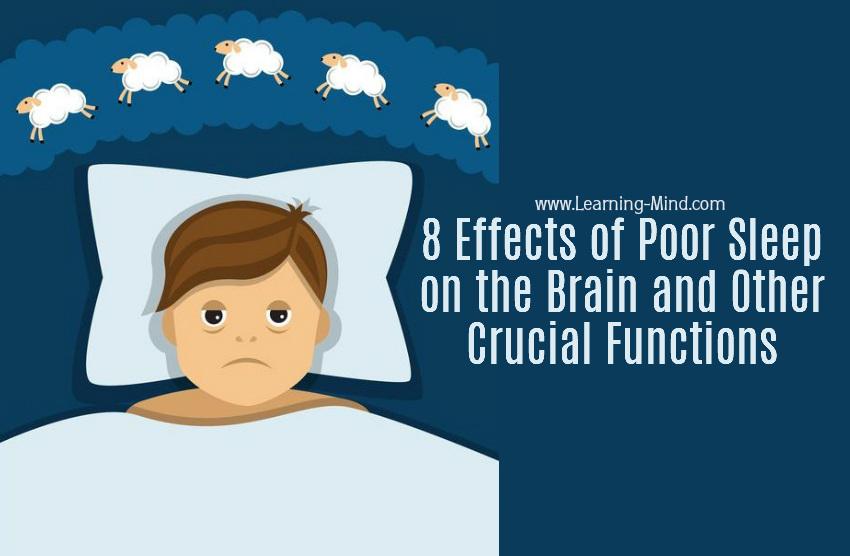 poor sleep brain