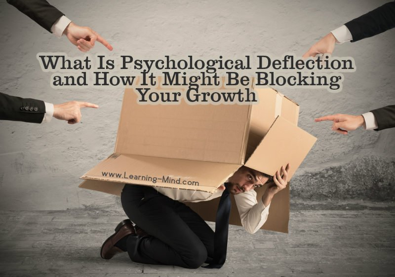 What Is Psychological Deflection and How It Might Be