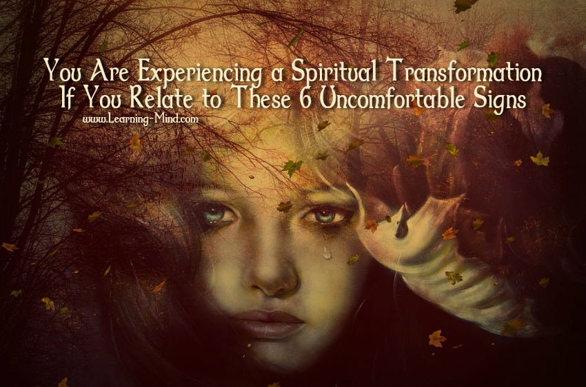 spiritual transformation signs