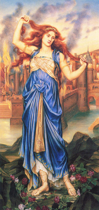 Cassandra Complex in Mythology, Psychology and the Modern World Painting-of-Cassandra-by-Evelyn-De-Morgan