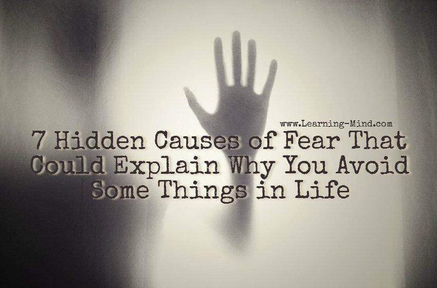 causes of fear