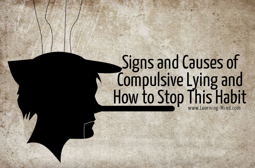 How to stop compulsive lying