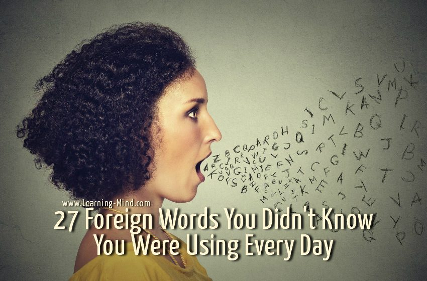 foreign words english
