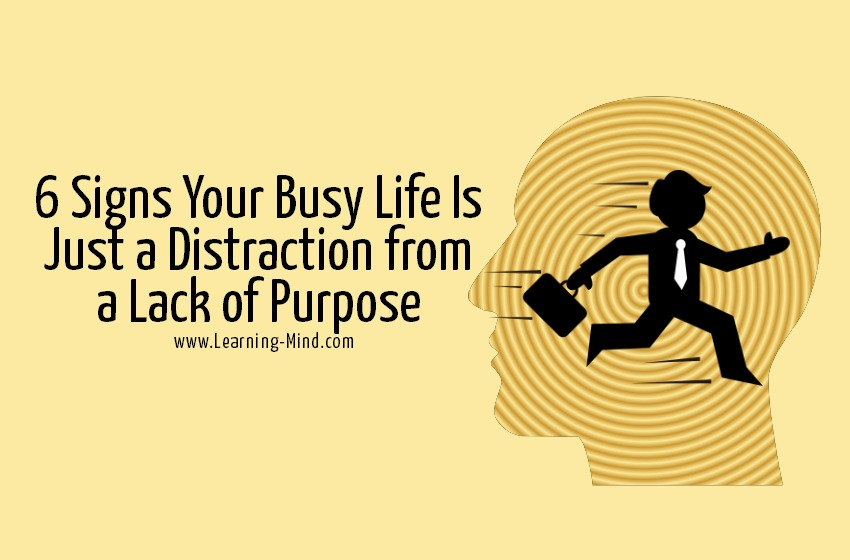 busy life lack of purpose