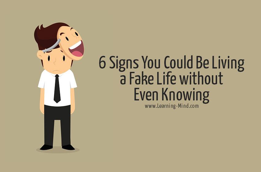 fake life signs
