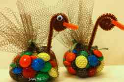 Candy Thanksgiving Turkey topper