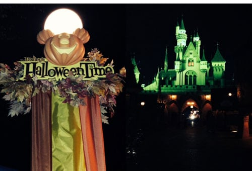 Disneyland Mickeys Halloween Party 2017 Night Time