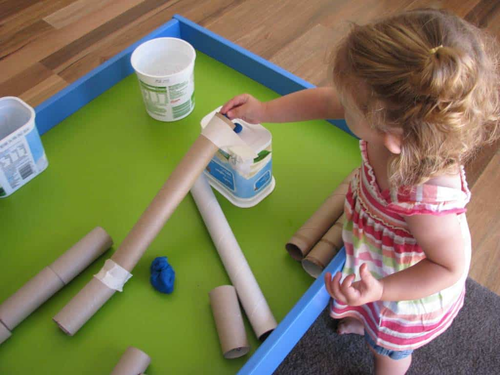 Play Dough Amp Cardboard Tubes