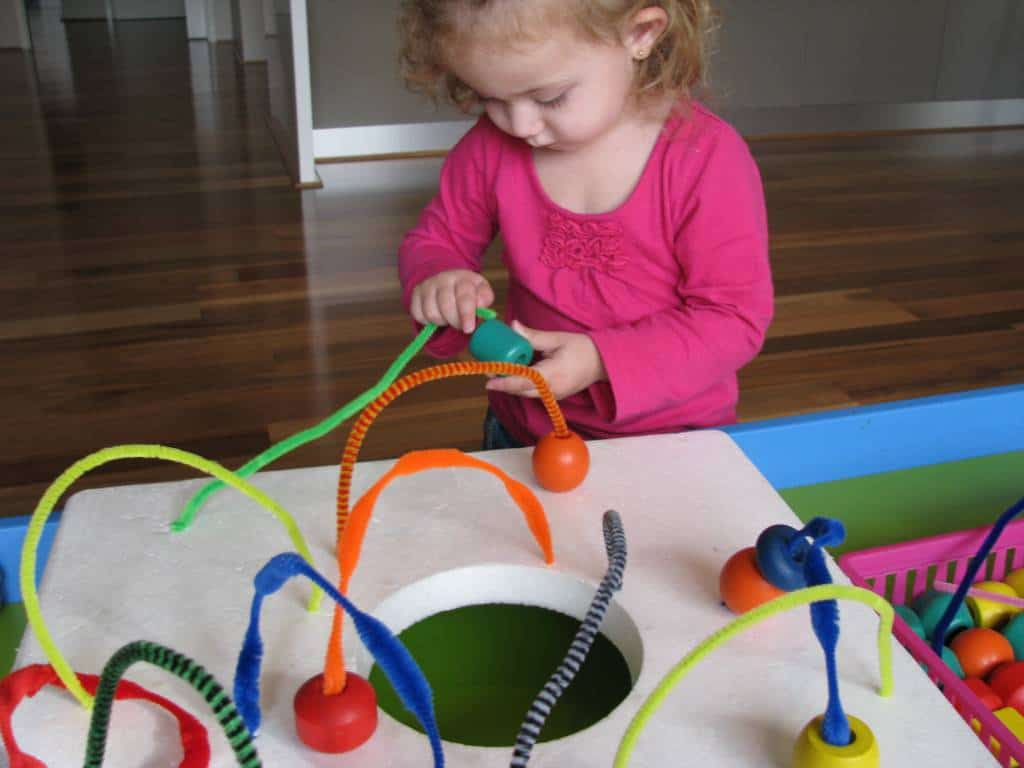 Pipe Cleaner Mazes