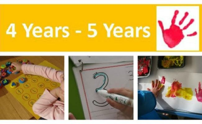 4 Years 5 Years Learning 4 Kids