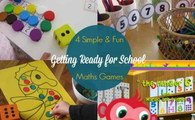 4 Maths Activities For Getting Ready For School Learning