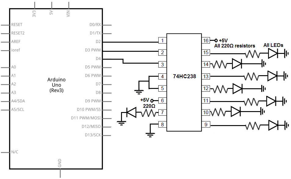 thread low battery level circuit