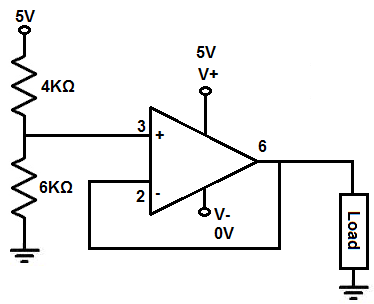 How to Build a Voltage Stabilizer Circuit using a Buffer