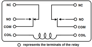 How to Connect a DPDT Relay in a Circuit