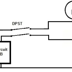 Limit Switch Wiring Diagram Land Rover Discovery 4 Trailer Plug Dpst Schematic All Data Double Pole Single Throw