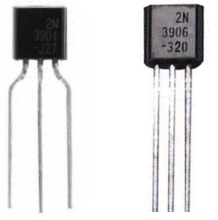 Difference between an NPN and a PNP transistor