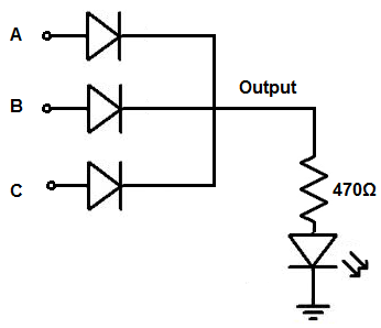 How to Build a Diode OR Gate Circuit