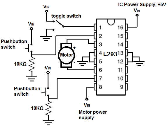 How to Build an H-bridge Circuit