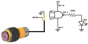 How to Build a Infrared Proximity Switch Circuit with a