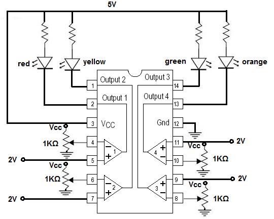 noninverting comparator circuit