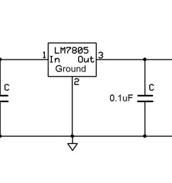 how to connect a voltage regulator in a circuit voltage regulator light voltage regulator diagram [ 1485 x 573 Pixel ]