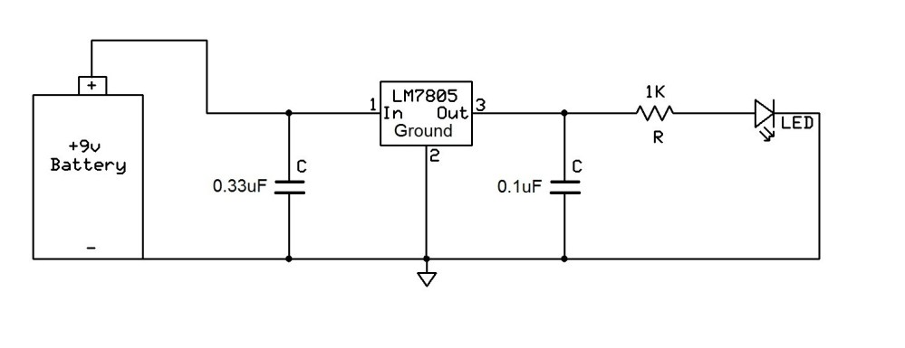medium resolution of lm7805 voltage regulator circuit