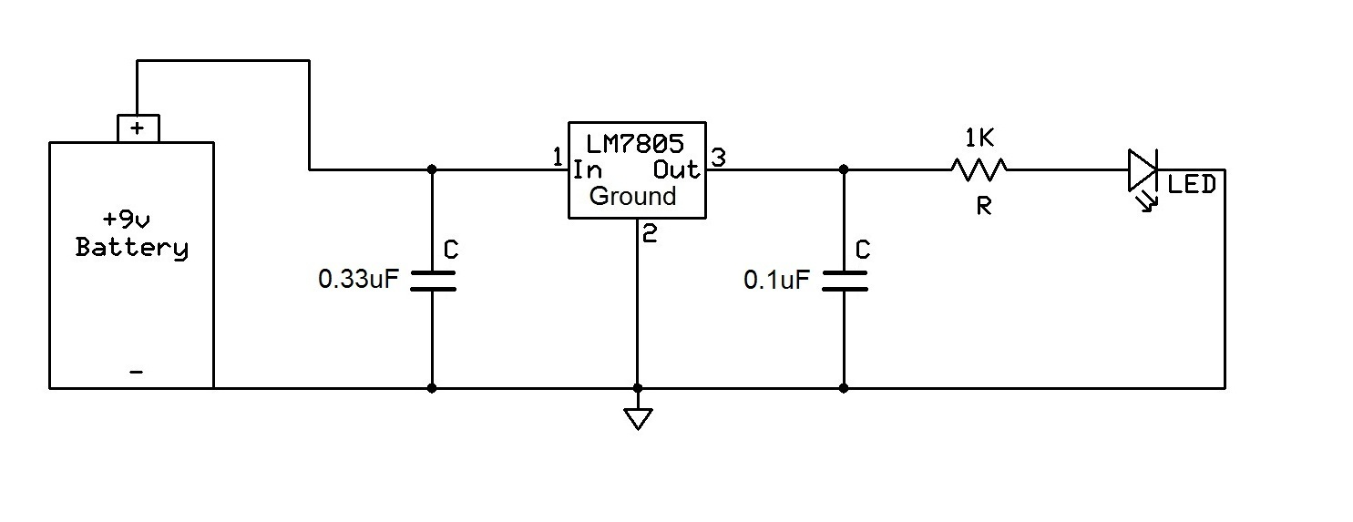 hight resolution of how to connect a voltage regulator in a circuit voltage regulator light voltage regulator diagram
