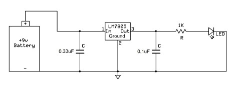 small resolution of lm7805 voltage regulator circuit