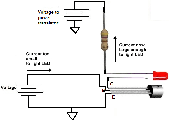 how to connect a pnp transistor in a circuit