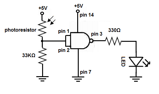 circuit so that you can see the exact wiring of the circuit to the