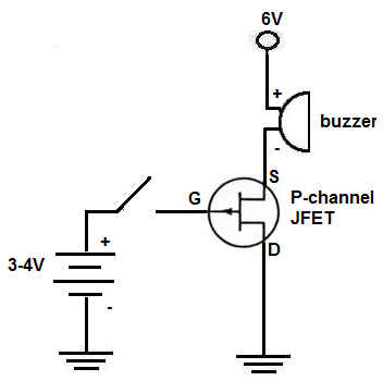 How to Build a P-Channel JFET Switch Circuit