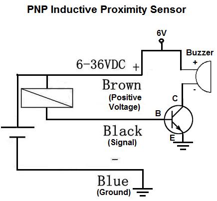 how to build a pnp inductive proximity sensor circuit