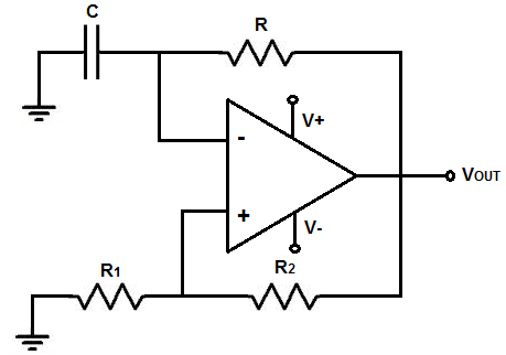 OpAmp oscillator gives no output. : AskElectronics