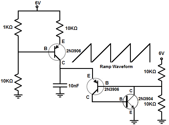 How to Build a Ramp Generator with Transistors