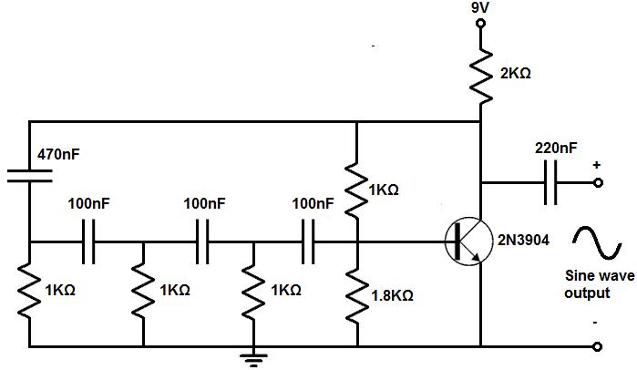 square wave sine wave generator circuit diagram signalprocessing