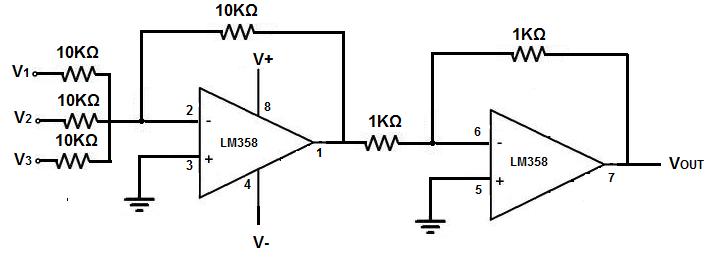 op amps circuit