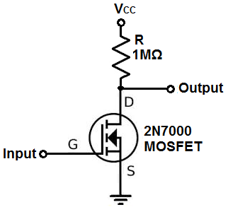 How to Build an Inverter with a Transistor