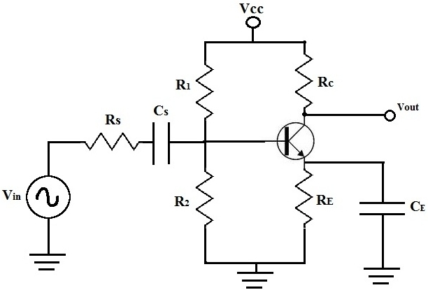 to analyse a transistor circuit do a dc analysis by redrawing the