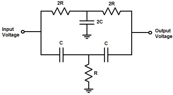 Circuit Diagram For Notch Filter: Audio filter circuit