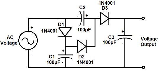 voltage doubler circuit