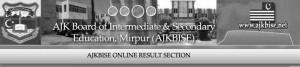AJK BISE Mirpur Board 9th class