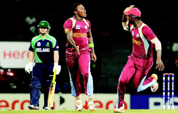 West Indies cricket fast bowler