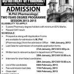 Chand Bagh School Muridke Admission 2016 Form Fee